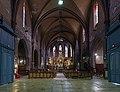 Montauban - L'église St. Jacques - Vue générale de l'interieur.jpg