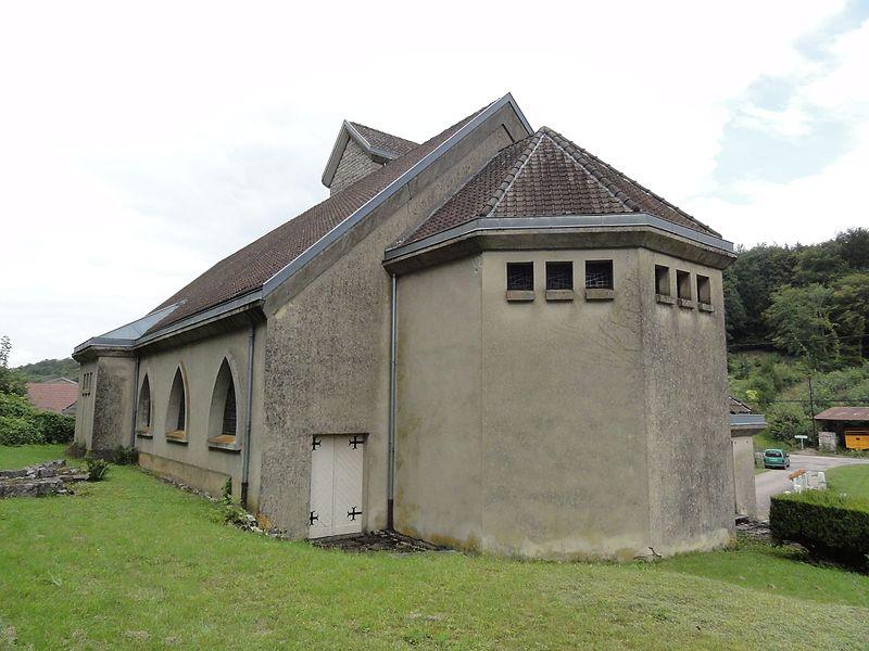 Montplonne (Meuse) église