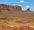 Monument Valley Navajo Tribal Park, AZ-UT Boarder 2010 (26620846865).jpg