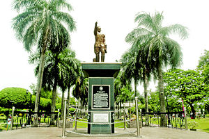 General Santos - Statue of General Paulino Santos in which the city is named after