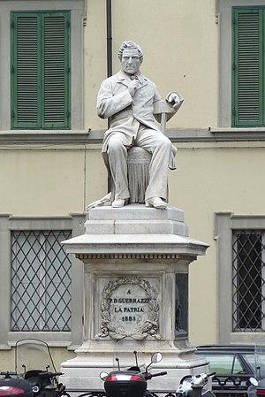 Francesco Domenico Guerrazzi - Monument in piazza Guerazzi, Livorno.
