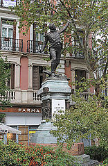 Monument to Jacinto Ruiz y Mendoza, Madrid