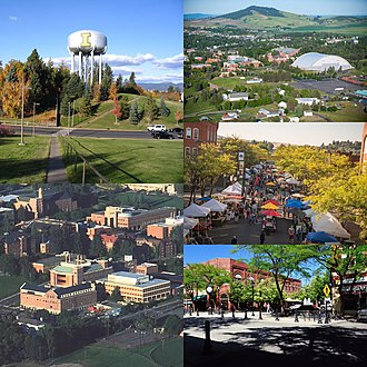 Moscow, Idaho - Image: Moscow, ID