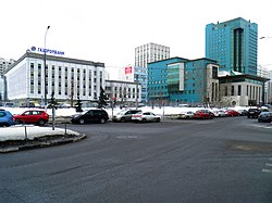 Moscow, Novocheremushkinskaya Street office block.jpg