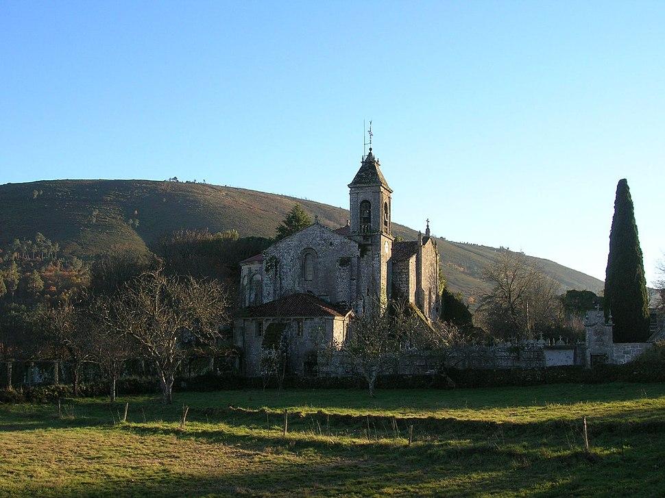 Mosteiro de Santa María de Melón.Galicia