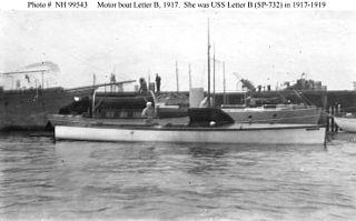 USS <i>Letter B</i> (SP-732)