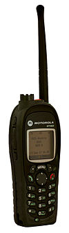 Motorola MTH800 TETRA radio registered in the BOS-Austria-Network