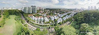 Holland-Bukit Timah Group Representation Constituency - Aerial perspective of Mount Sinai Singapore