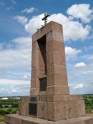 Mountsorrel - War memorial on Castle Hill