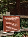 Muir Woods First Amendment Area sign.jpg