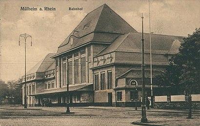 Wie Komme Ich Zu Bahnhof Köln Mülheim In Rhein Ruhr Region Mit Dem