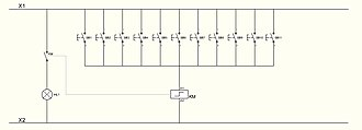 Latching switch - Image: Multiway switching