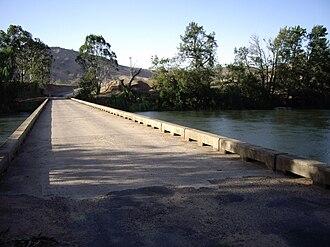 Mundarlo, New South Wales - Mundarlo - Murrumbidgee River crossing