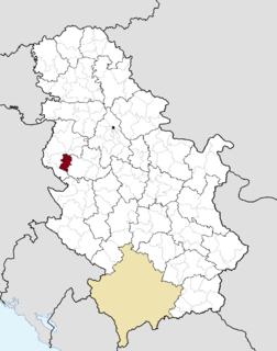 Osečina Town and municipality in Šumadija and Western Serbia, Serbia