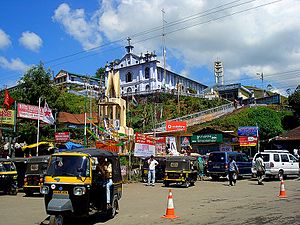 Munnar - Munnar town