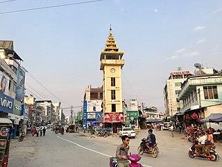 Muse, Myanmar Town in Shan State, Myanmar