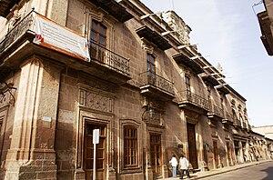 Español: Fachada principal del Museo Regional ...