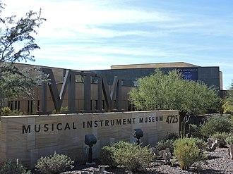 Musical Instrument Museum (Phoenix) - Street view of MIM