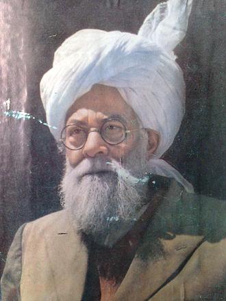 Mirza Basheer-ud-Din Mahmood Ahmad - Mirza Mahmood Ahmad in 1954