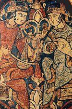 Mosaico arabo nella Cappella Palatina di Palermo. Gli arabi furono grandi innovatori nell'arte culinaria siciliana