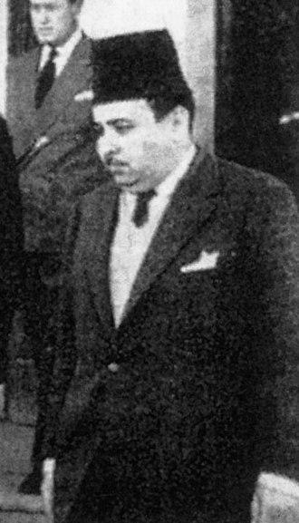 Minister of Foreign Affairs (Libya) - Image: Mustafa Ben Halim
