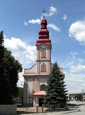 Myslava - Image: Myslava, Rímskokatolícky kostol Svätého Bartolomeja