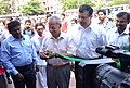 N. Gopalaswami inaugurating the three day exhibition on Voter Awareness as a part of the SVEEP campaign by the Election Commission of India, in Marina Beach.jpg