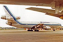 N391EA DC-10-30 Eastern Airlines LGW JUL85 (12560034175).jpg