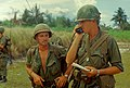 NARA 111-CCV-402-CC42784 2nd Battalion, 35th Infantry company commander calls in helicopters Task Force Oregon 1967.jpg