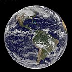 NASA GOES-13 Full Disk view of Earth November 24, 2010 (5205138578).jpg