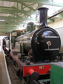 NER E5 2-4-0 1463 (1885) Head of Steam, Darlington 30.06.2009 P6300112 (10192722204).jpg