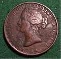 NOVA SCOTIA, VICTORIA, 1856 -HALFPENNY TOKEN b - Flickr - woody1778a.jpg