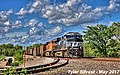 NS 8127 Leads SB Coal Drag Olathe, KS 5-1-17 (34354629756).jpg