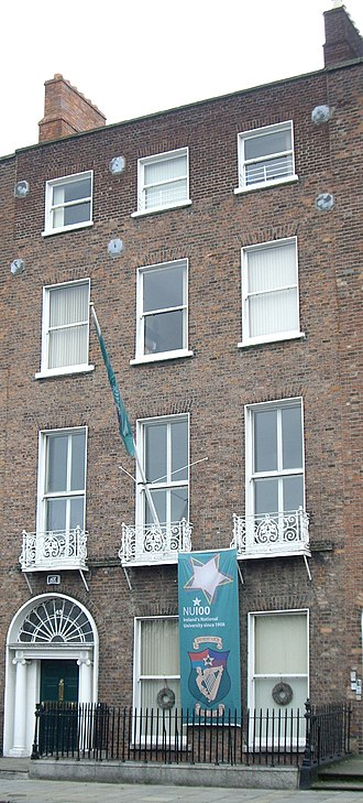 National University of Ireland - The offices of the NUI, on Merrion Square in Dublin