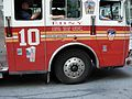 NYFD Truck number 10 with 911TextSide 2009.jpg