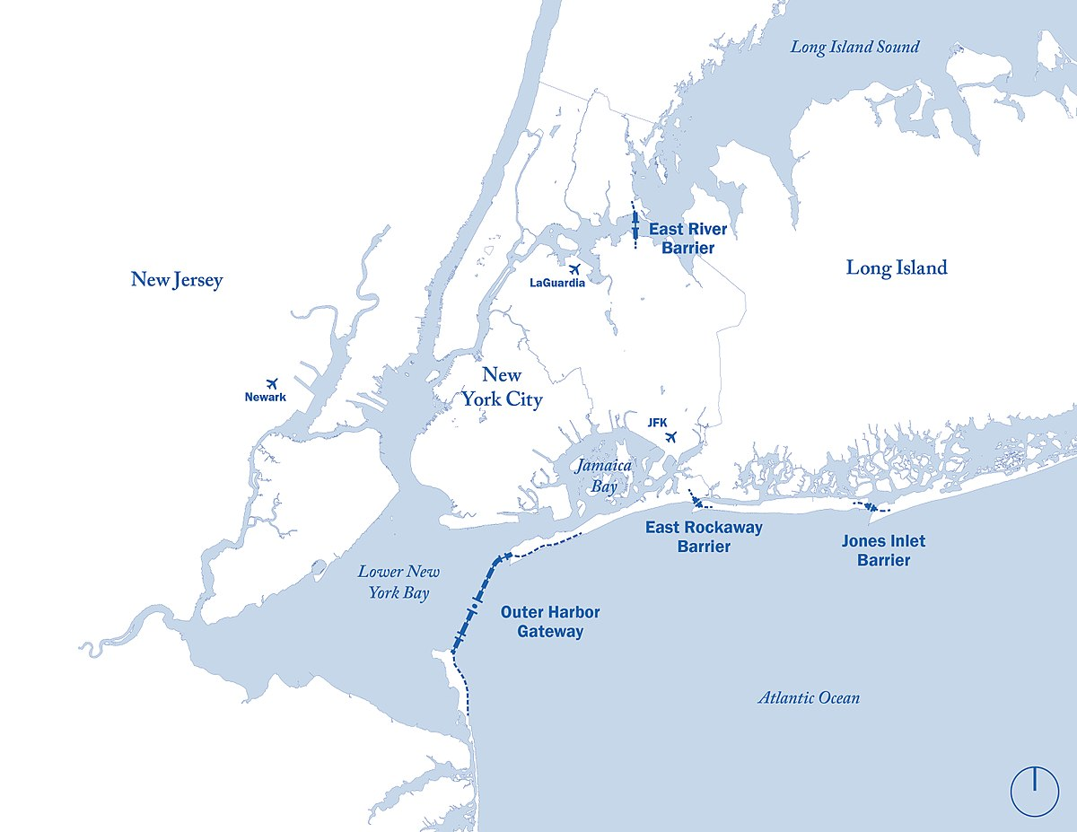 Map Of A Long Island
