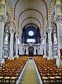 Nancy Basilique Sacré-Coeur Innen Langhaus West 1.jpg
