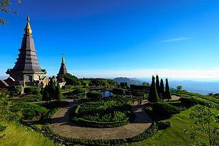 Doi Inthanon highest mountain of Thailand