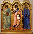 Nardo di cione, tre santi, 1365 ca., da s.g. della calza a firenze, 01.jpg