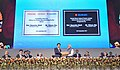 Narendra Modi and the Prime Minister of Japan, Mr. Shinzo Abe lay foundation stone for Lithium-ion Battery Manufacturing Facility & inaugurate Suzuki Motor Vehicle Manufacturing Facility, at the India-Japan Business Summit.jpg