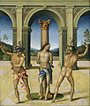 National gallery in washington d.c., bacchiacca, flagellazione di cristo, 1512-15.JPG
