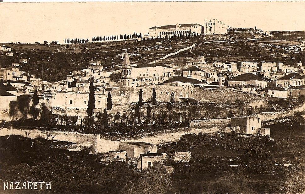 Nazareth, by Fadil Saba 1