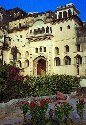 Aman Nath - Neemrana Fort Palace hotel, at Neemrana, Alwar district Rajasthan, the first property of Neemrana Hotels, opened 1991