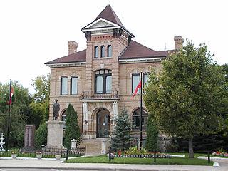 Neepawa Town in Manitoba, Canada