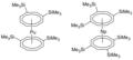 Neptunium and Plutonium cyclooctatetraene sandwich complexes.png