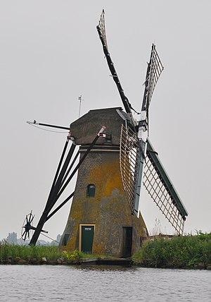 Kagerplassen - Image: Netherlands, Warmond, windmill 'De Kok'