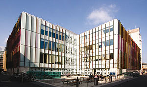 Department of Biochemistry, University of Oxford - The New Biochemistry Building