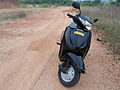 New Honda Activa Scooter at Kommadi.JPG
