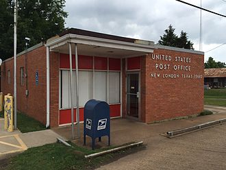 New London, Texas - United States Post Office in New London, Texas