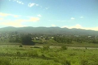 Ngong Hills - Ngong Hills as seen from Kiserian